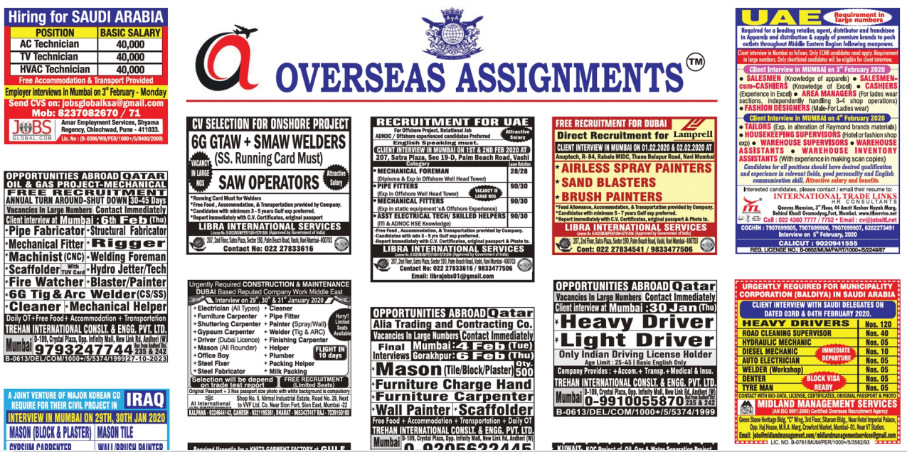 Assignment Abroad Times 1 feb