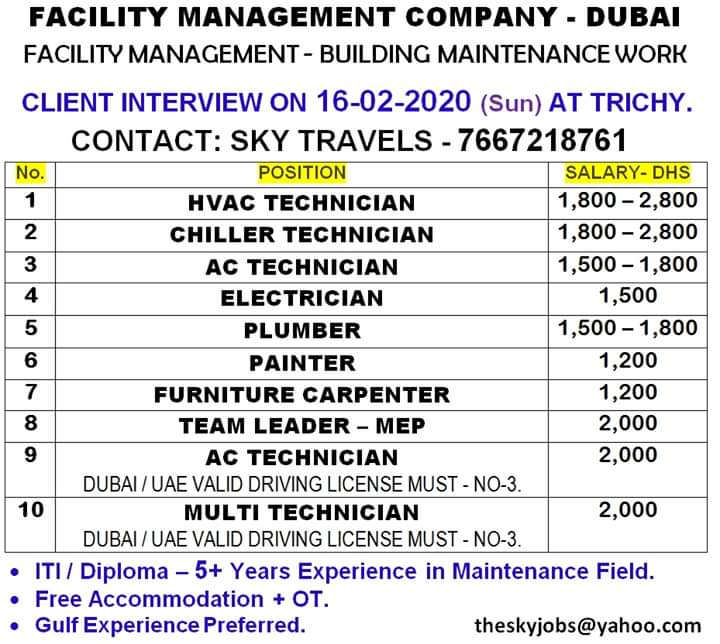 gulf jobs 14 dubai exp 16 feb