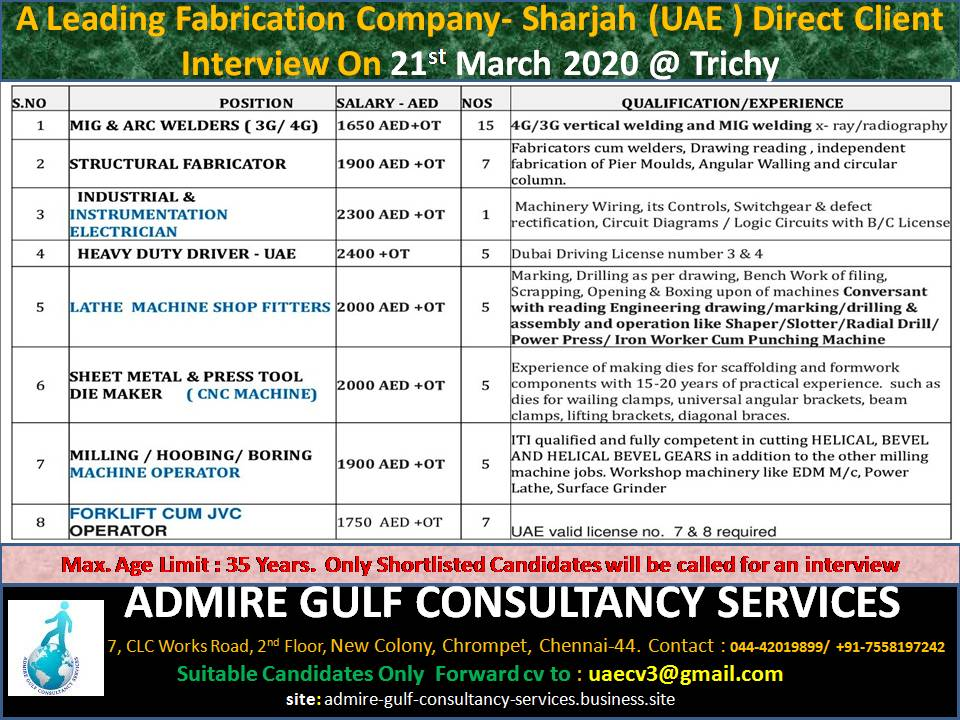 gulf jobs exp 18 march