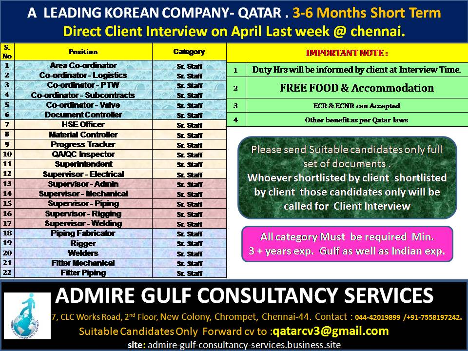 gulf jobs exp april