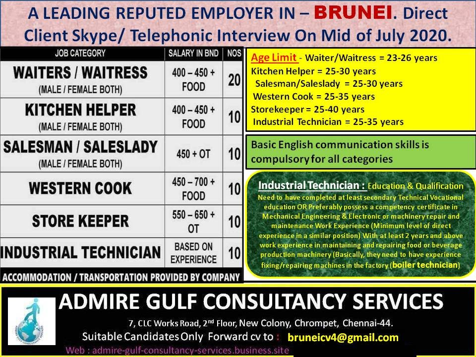 Gulf jobs eabroad jobs