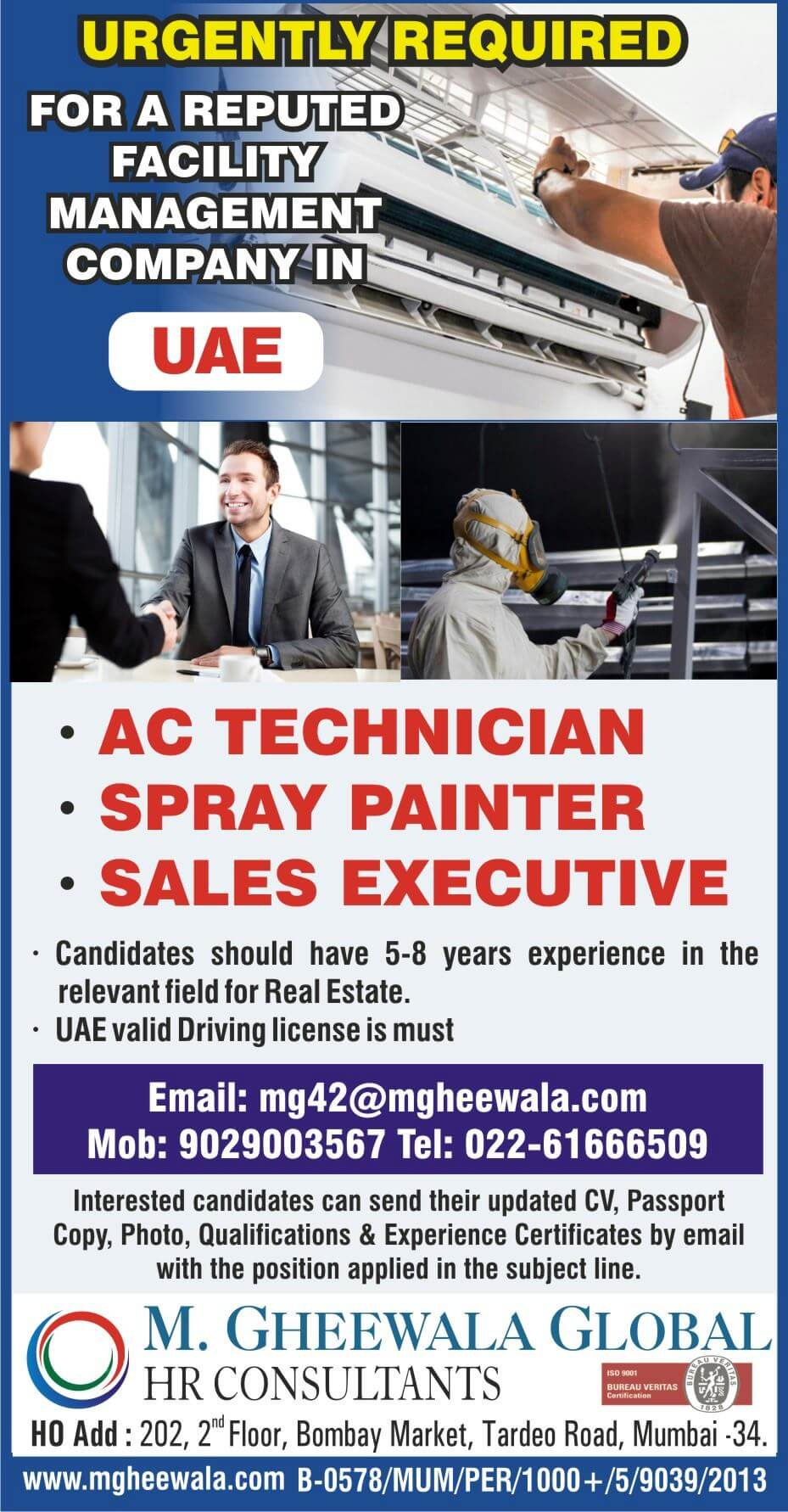 Jobs for uae