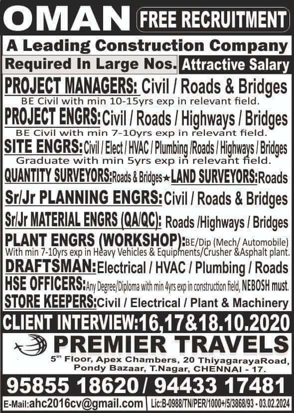 Jobs for Oman
