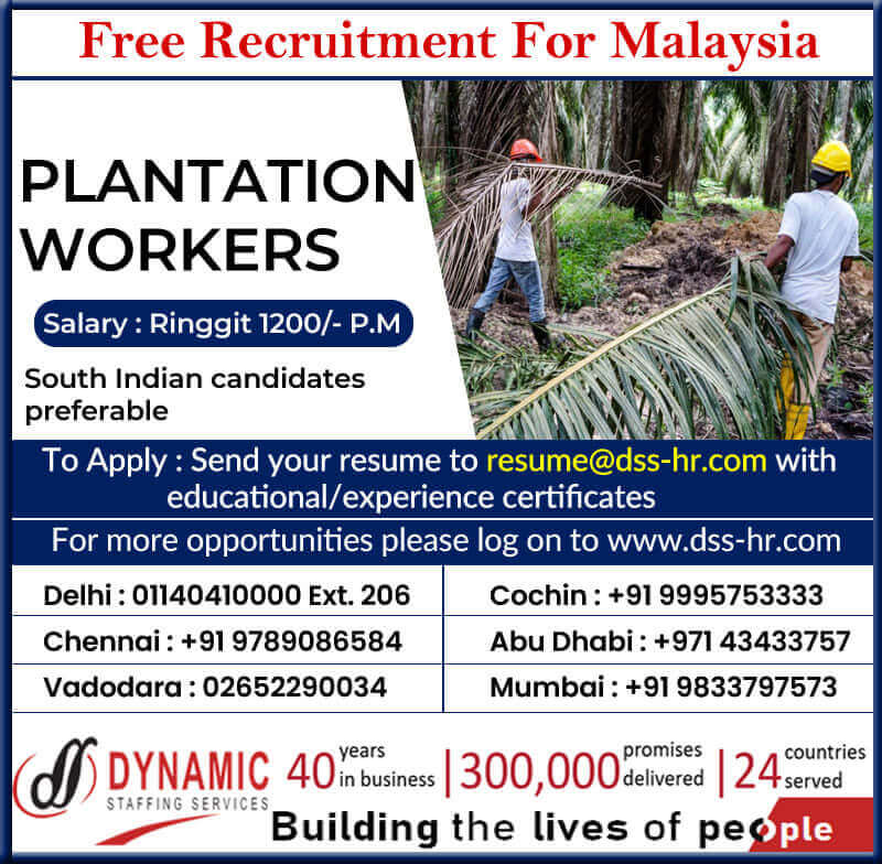 Jobs for Malaysia